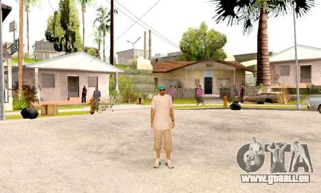 Varios Los Aztecas Gang Skin pack pour GTA San Andreas cinquième écran