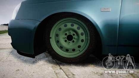 ВАЗ-Lada 2170 Priora emboutissage pour GTA 4 Vue arrière