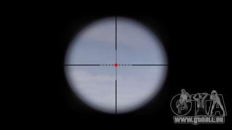 Machine M4A1 cible pour GTA 4 troisième écran