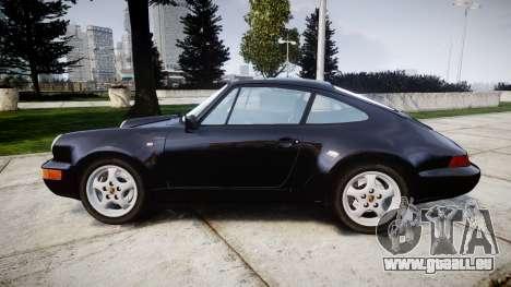 Porsche 911 (964) Coupe Razval pour GTA 4 est une gauche