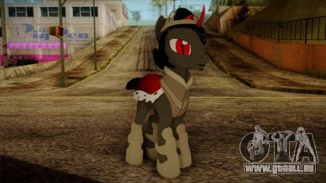 King Sombra from My Little Pony pour GTA San Andreas