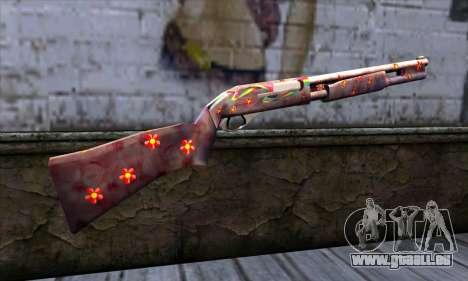 Chromegun v2 coloration de Couleur pour GTA San Andreas deuxième écran