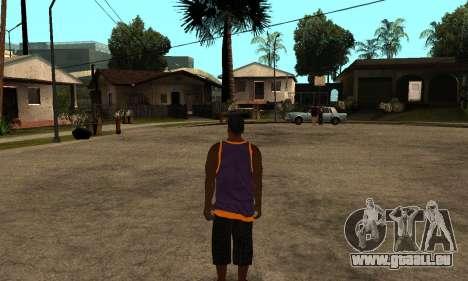 The Ballas Skin Pack für GTA San Andreas zweiten Screenshot