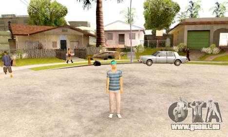 Varios Los Aztecas Gang Skin pack pour GTA San Andreas troisième écran