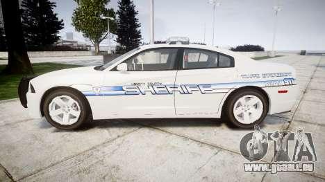 Dodge Charger RT [ELS] Liberty County Sheriff für GTA 4 linke Ansicht