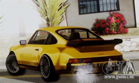 Porche 911 Turbo 1982 pour GTA San Andreas laissé vue