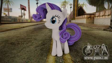 Rarity from My Little Pony für GTA San Andreas