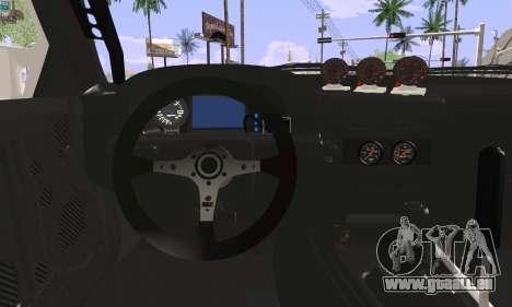 Mazda FC3S pour GTA San Andreas sur la vue arrière gauche