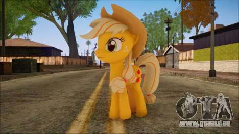 Applejack from My Little Pony für GTA San Andreas