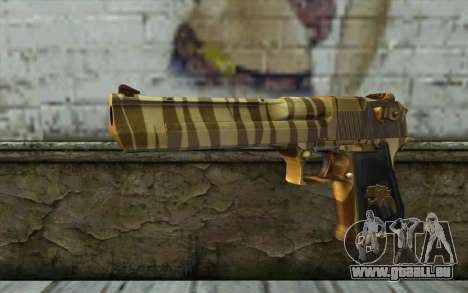Desert Eagle Gold v2 für GTA San Andreas