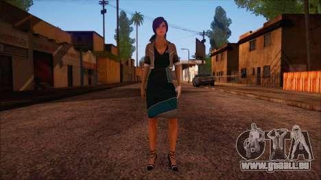 Modern Woman Skin 4 v2 pour GTA San Andreas