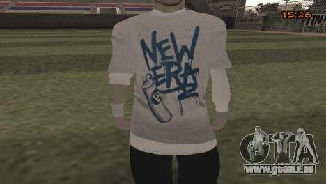 Tracer Skin New Era für GTA San Andreas dritten Screenshot