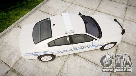 Dodge Charger RT [ELS] Liberty County Sheriff für GTA 4 rechte Ansicht