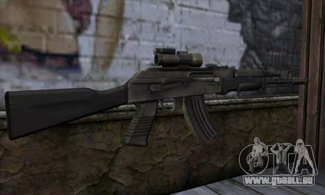 AK-103 Ravaged für GTA San Andreas zweiten Screenshot