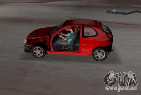 Daewoo Lanos Sport UNS 2001 für GTA Vice City Motor