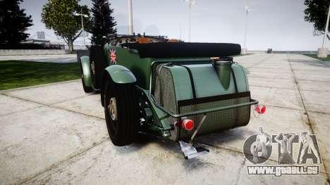Bentley Blower 4.5 Litre Supercharged [low] pour GTA 4 Vue arrière de la gauche
