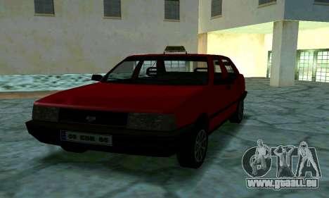 Tofas Sahin Taxi pour GTA San Andreas vue de côté