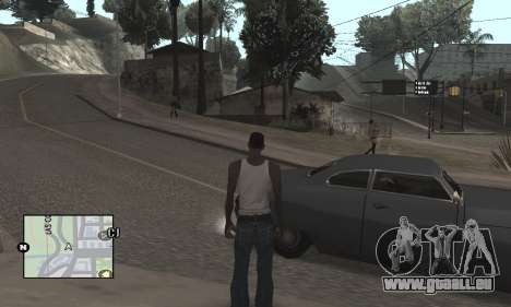 Colormod by Tego Calderon für GTA San Andreas her Screenshot