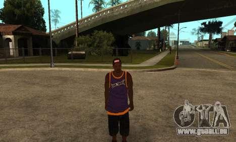 The Ballas Skin Pack für GTA San Andreas