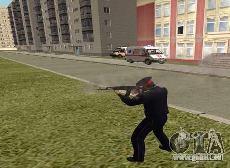 Le sergent de police pour GTA San Andreas troisième écran