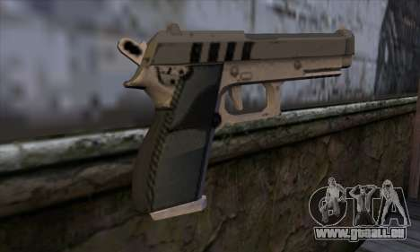 Pistol from GTA 5 für GTA San Andreas zweiten Screenshot