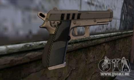 Pistol from GTA 5 pour GTA San Andreas deuxième écran