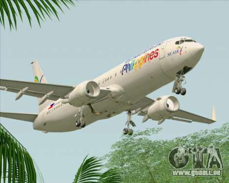 Boeing 737-800 South East Asian Airlines (SEAIR) pour GTA San Andreas moteur
