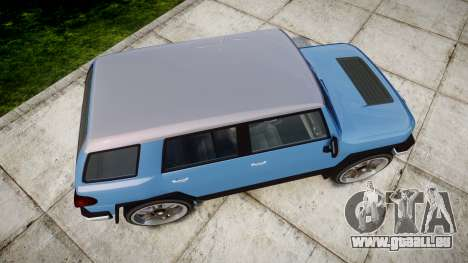 GTA V Karin BeeJay XL für GTA 4 rechte Ansicht