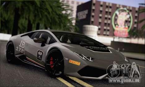 Lamborghini Huracan LP610-4 2015 Rim für GTA San Andreas Seitenansicht