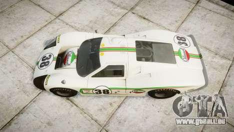 Ford GT40 Mark IV 1967 PJ Oilzanol 38 pour GTA 4 est un droit