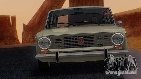 ВАЗ 2101 Stock v3.0 final pour GTA San Andreas sur la vue arrière gauche