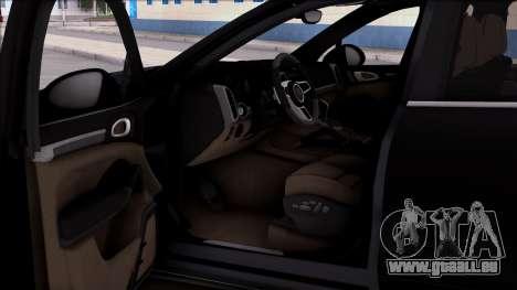 Porsche Cayenne Hybrid 2015 pour GTA San Andreas vue de droite
