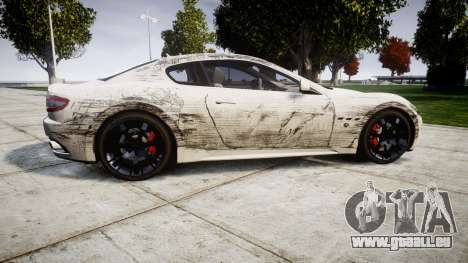 Maserati GranTurismo S 2010 PJ 4 pour GTA 4 est une gauche