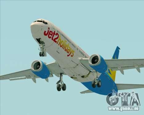 Boeing 737-800 Jet2Holidays pour GTA San Andreas moteur