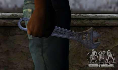 Clé à molette pour GTA San Andreas troisième écran