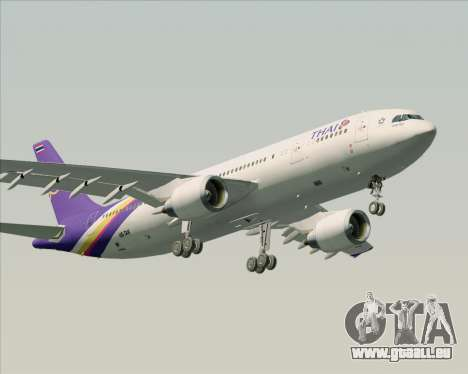 Airbus A300-600 Thai Airways International für GTA San Andreas Unteransicht