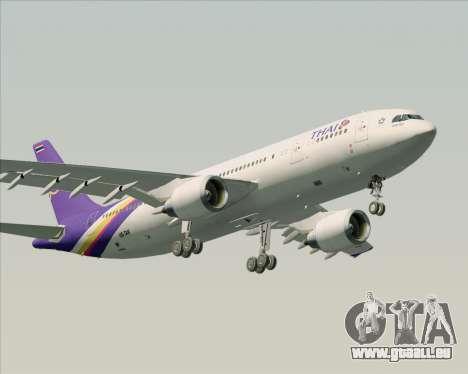 Airbus A300-600 Thai Airways International pour GTA San Andreas vue de dessous