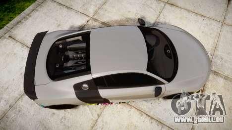 Audi R8 LMX 2015 [EPM] Sticker Bomb für GTA 4 rechte Ansicht