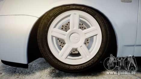 ВАЗ-Lada 2170 Priora Ampoule pour GTA 4 Vue arrière