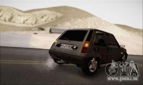 Renault 5 pour GTA San Andreas vue de droite