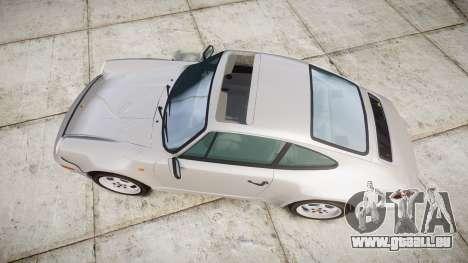 Porsche 911 (964) Coupe für GTA 4 rechte Ansicht