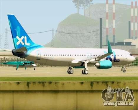 Boeing 737-800 XL Airways für GTA San Andreas rechten Ansicht
