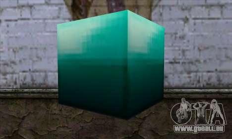 Block (Minecraft) v10 für GTA San Andreas zweiten Screenshot