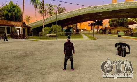 The Ballas Gang Skin Pack pour GTA San Andreas quatrième écran