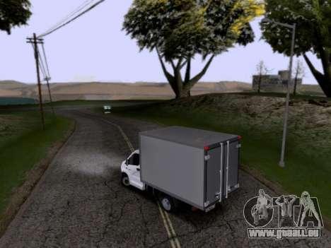 Gazelle Weiter für GTA San Andreas linke Ansicht