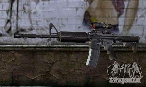 M4 Carbine ACOG pour GTA San Andreas