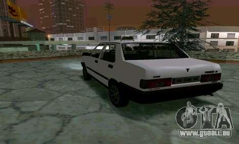 Tofas Sahin Taxi pour GTA San Andreas vue de droite