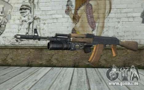 AK-74 Pour assurer notre pour GTA San Andreas
