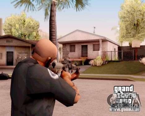 M4A1 BF4 pour GTA San Andreas deuxième écran