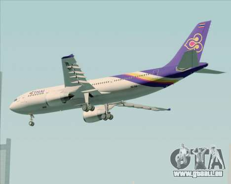 Airbus A300-600 Thai Airways International für GTA San Andreas rechten Ansicht